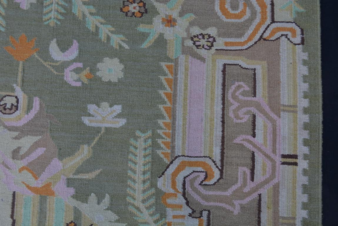 design kelim teppich 238x156 pastell farben handarbeit. Black Bedroom Furniture Sets. Home Design Ideas