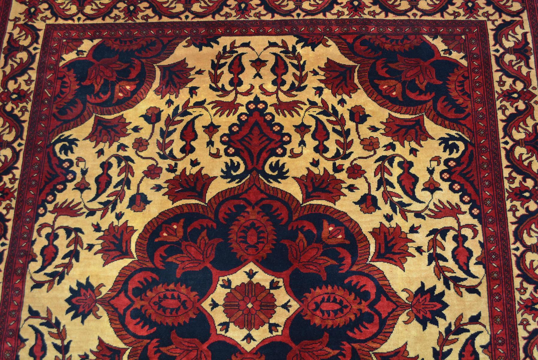 Teppich Naturfarben 100% Wolle 180x154cm braun