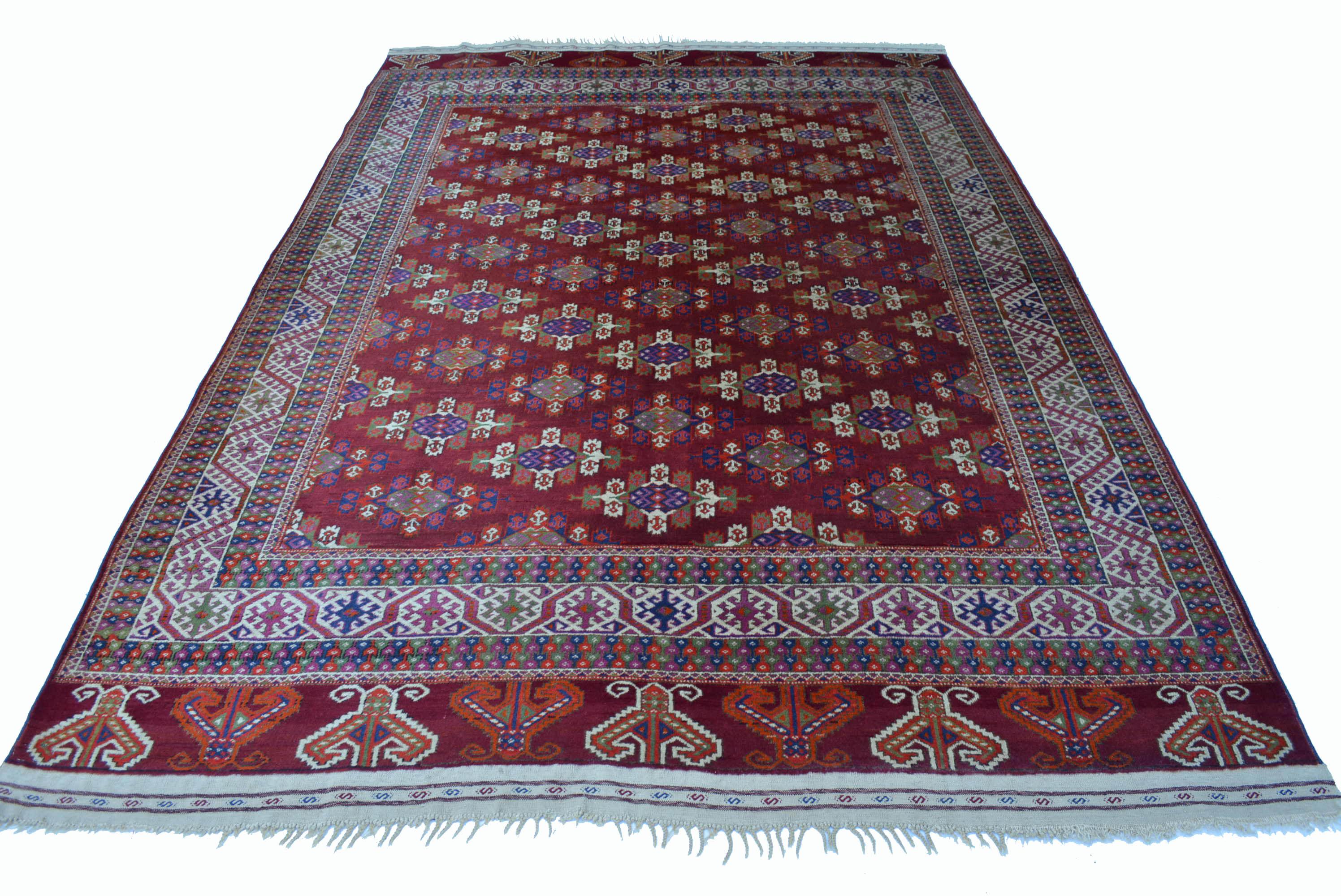 Jomud Teppich Turkmenistan 287x189cm Yomut Hauptteppich