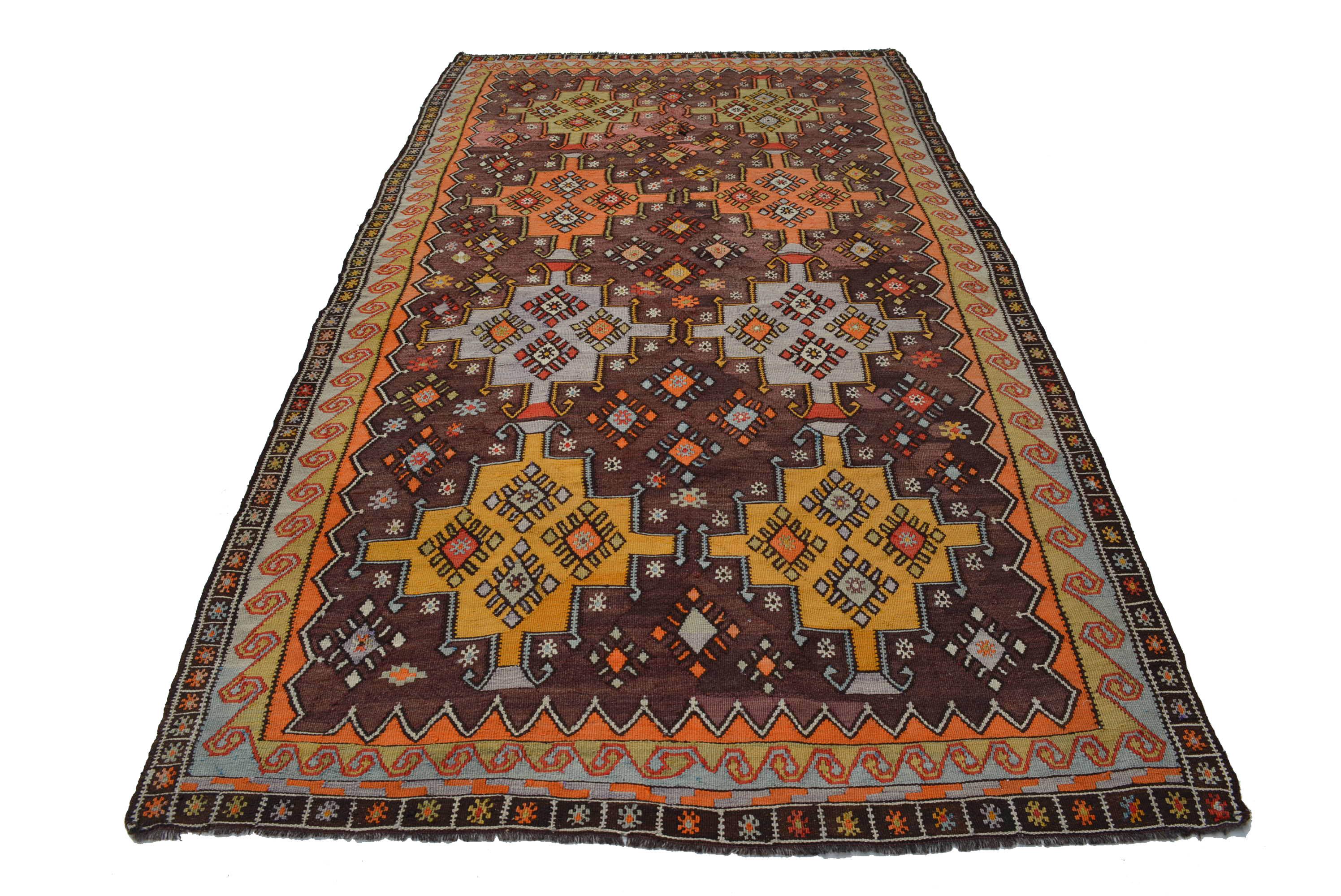 antik anatolischer kelim teppich wolle gewebt 315x170cm kilim rug tappeto tapis ebay. Black Bedroom Furniture Sets. Home Design Ideas